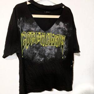 Oversized Cut  Graphic T-Shirt